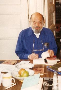 Алън Гинзбърг - 1994 г., архив на В. Левчев