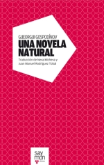 """Корицата на испанското издание на """"Естествен роман"""""""