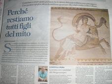 Публикацията на есето във в-к Repubblica