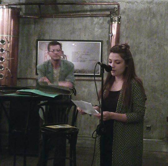 Наталия Иванова по време на лауреатската вечер
