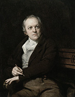 William Blake by Thomas Phillips (Wikimedia Commons)